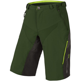 Endura MT500 Spray II Short ample Homme, forestgreen